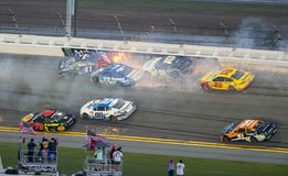 NASCAR: Στις 18 Φεβρουαρίου Daytona 500 Στοκ Φωτογραφία
