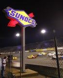 nascar στροφή sunoco του Ρίτσμοντ νύχτ&al Στοκ Εικόνες