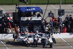 NASCAR: Χαρτοπαικτική λέσχη 400 Hollywood στις 22 Οκτωβρίου Στοκ Φωτογραφίες
