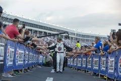 NASCAR: Гонка энергии изверга 19-ое мая блестящая Стоковое Изображение