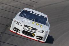 NASCAR: Испытание 16-ое сентября NASCAR Стоковые Изображения RF