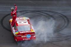 NASCAR: Коалиция 400 боя 24-ое июля раненая Стоковое Изображение RF