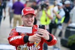 NASCAR: Настоящие моменты кроны 26-ое июля королевские Джеф Кайл 400 на кирпичном заводе Стоковые Фотографии RF