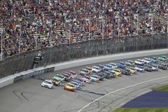NASCAR: 13-ое августа чисто Мичиган 400 Стоковые Изображения