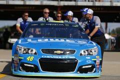 NASCAR: 11-ое августа чисто Мичиган 400 Стоковое Изображение RF