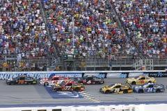 NASCAR: 13-ое августа чисто Мичиган 400 Стоковые Изображения RF