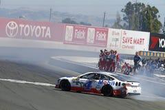 NASCAR: 25-ое июня Тойота/рынок 350 спасения Стоковая Фотография RF