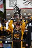 NASCAR: 21-ое июня Gardner Денвер 200 увольнянный вверх Johnsonville Стоковая Фотография RF