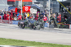 NASCAR: 12-ое марта Kobalt 400 Стоковые Изображения