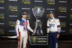 NASCAR: 9-ое сентября объединил автозапчасти в федерацию 400 Стоковое Изображение RF