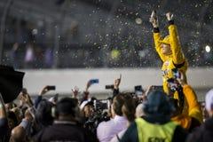NASCAR: Предприниматели 400 21-ое апреля Тойота Стоковое Изображение RF