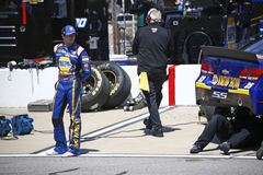 NASCAR: Предприниматели 400 24-ое апреля Тойота Стоковое фото RF