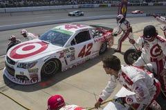 NASCAR: Предприниматели 400 26-ое апреля Тойота Стоковое фото RF