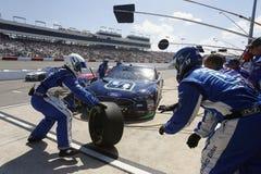 NASCAR: Предприниматели 400 30-ое апреля Тойота Стоковые Фото