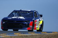 NASCAR: РЫНОК 350 21-ое июня TOYOTA/SAVE стоковые изображения
