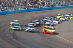 NASCAR 2013:  Серия AdvoCare чашки спринта 10-ое ноября 500 Стоковое фото RF