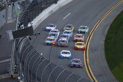 NASCAR: Столкновение автозапчастей выдвижения 19-ое февраля на Daytona Стоковое Фото