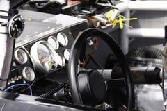 NASCAR -在赛车2010里面全明星种族 免版税库存图片