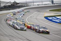 NASCAR :乌龟400的9月17日传说 免版税库存照片