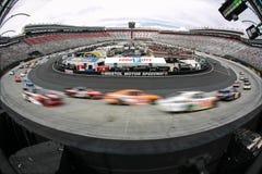 NASCAR :停止糖尿病的4月18日驱动300 库存照片