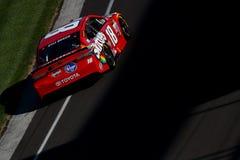 NASCAR :吉尔伯特7月23日Brantley大机器砖瓦厂400 免版税库存照片