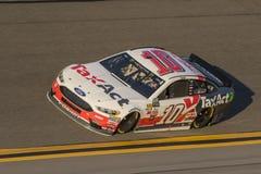 NASCAR :在Daytona的2月17日先遣汽车零件碰撞 库存照片