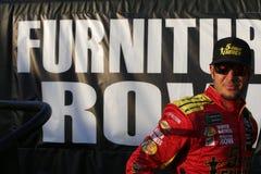NASCAR :在Daytona的2月17日先遣汽车零件碰撞 免版税库存图片