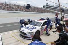 NASCAR :孤独性的400 6月04日AAA驱动 图库摄影