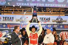 NASCAR :得克萨斯11月02日AAA 500 免版税库存照片