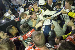 NASCAR :得克萨斯11月02日AAA 500 免版税图库摄影