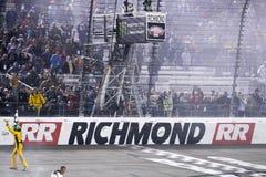 NASCAR :4月21日丰田所有者400 免版税库存照片