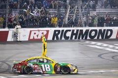 NASCAR :4月21日丰田所有者400 免版税库存图片