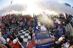 NASCAR :10月01日亚帕基战士400 图库摄影