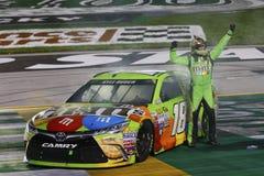 NASCAR :7月11日交友派信徒状态400 库存照片