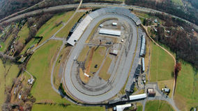 NASCAR :11月22日北部Wilkesboro赛车场 库存图片