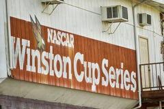 NASCAR :11月22日北部Wilkesboro赛车场 图库摄影