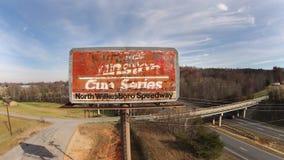 NASCAR :11月22日北部Wilkesboro赛车场 免版税库存照片