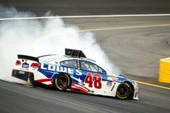 NASCAR :5月24日可口可乐600 免版税库存照片