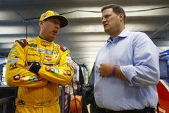 NASCAR :5月25日可口可乐600 库存图片