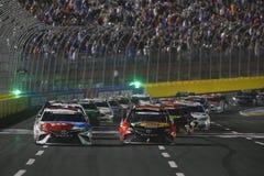 NASCAR :5月28日可口可乐600 免版税库存照片