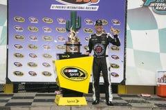 NASCAR :3月02日在CNBC 500的赢利 库存照片