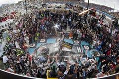 NASCAR :3月02日在CNBC 500的赢利 免版税库存照片