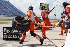 NASCAR :6月30日奥弗顿` s 300 库存图片