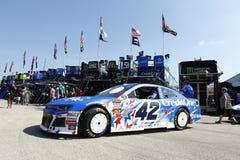 NASCAR :6月30日奥弗顿` s 400 免版税库存图片