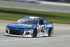 NASCAR :6月30日奥弗顿` s 400 库存图片