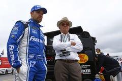 NASCAR :7月14日奥弗顿` s 301 免版税库存图片