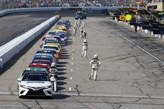 NASCAR :7月16日奥弗顿` s 301 免版税图库摄影