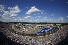 NASCAR :7月16日奥弗顿` s 301 库存图片