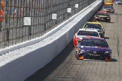 NASCAR :7月16日奥弗顿` s 301 免版税库存照片