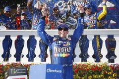 NASCAR :7月30日奥弗顿` s 400 免版税库存图片